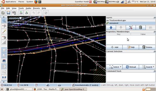 Klick zum Vergrößern, Screenshot von Günther Hölzl