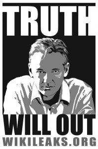 Assange Poster (CC) Raymond Salvatore Harmon